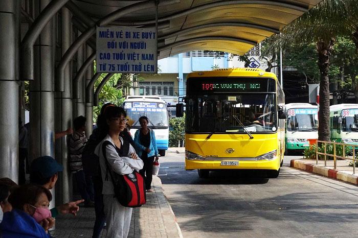 Bus 109 Aeropuerto Tan Son Nhat Saigon