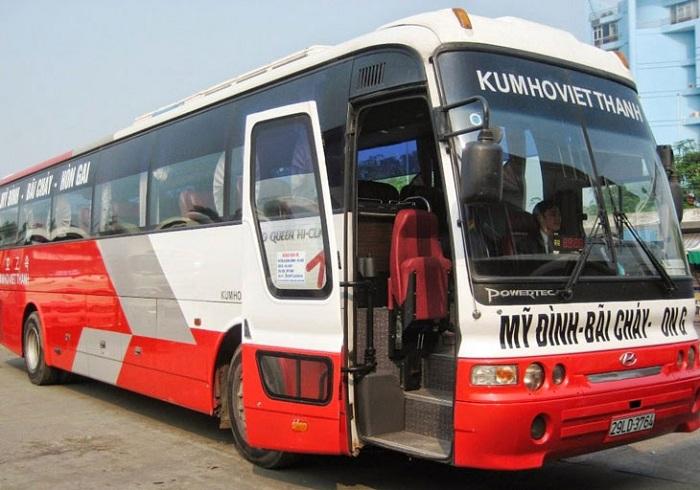 Bus de Hanoi a Halong