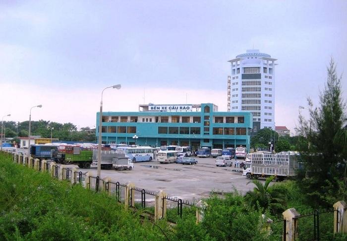 Estacion de buses Haiphong cat ba ninh binh