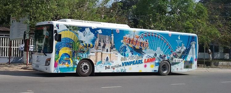 Autobus gratuito a Vinpearl Phu Quoc Vietnam