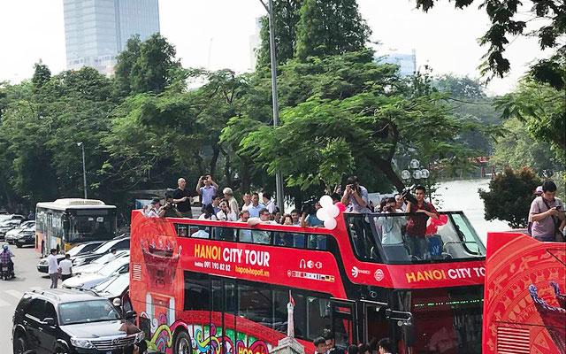 Bus turistico Hanoi Hop on Hop off Hanoi