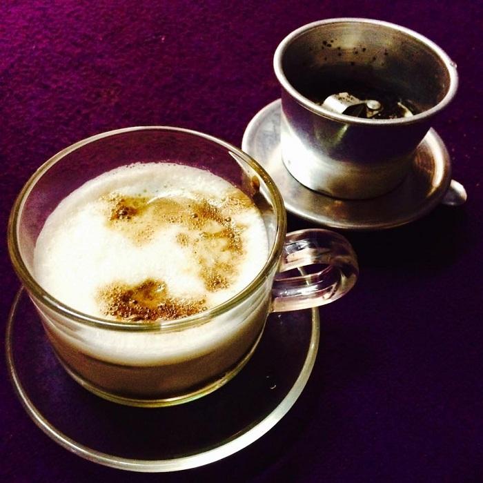 Cafe salado en Hue