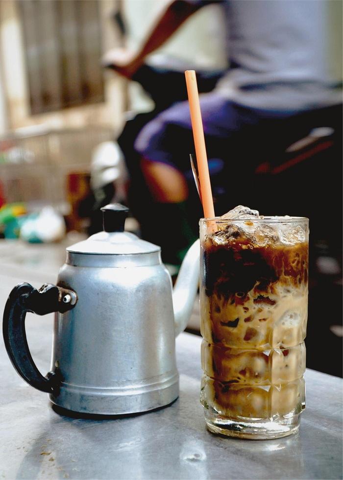Cafe helado en Vietnam