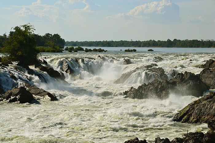 Caídas de agua de Khone Phapheng