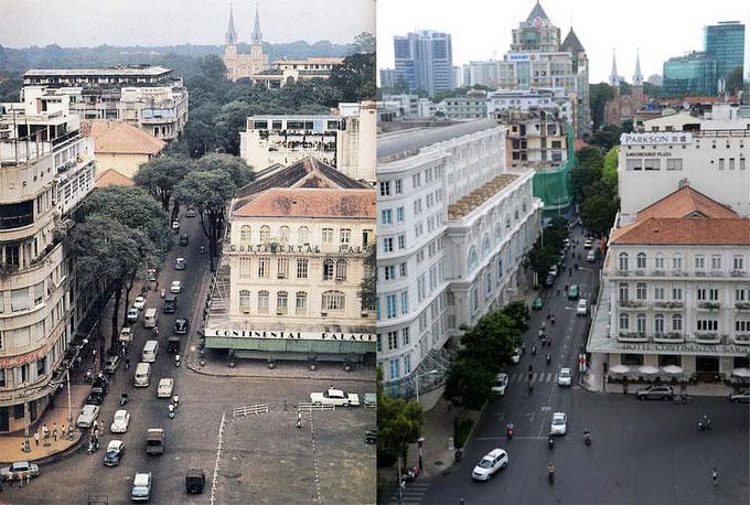 Calle catinat en Saigon
