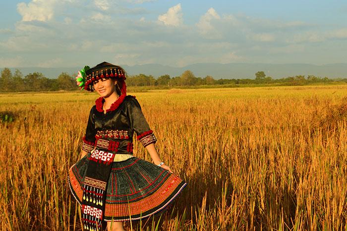 Caminata a los pueblos étnicos en Xieng Khouang Laos