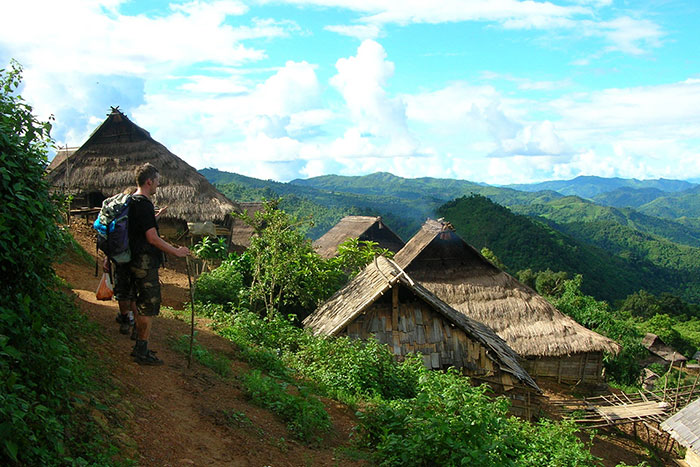 Caminata en Nong Khiaw