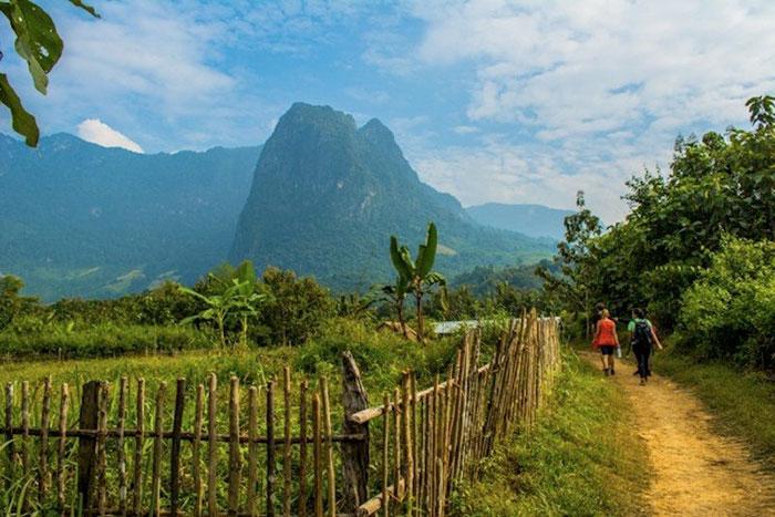 Caminata por los pueblo de Luang Prabang