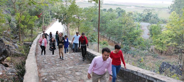 Caminata en Van Long NInh Binh