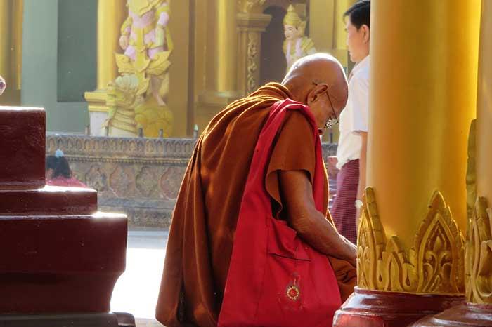 Templo en Mandalay Myanmar