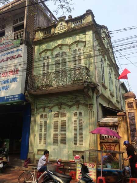 Antigua casa colonial en Hue