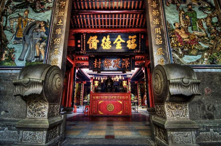 Casa comunal china de Caozhou en Hoi An