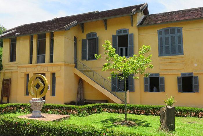 La casa patrimonio en Luang Prabang Laos