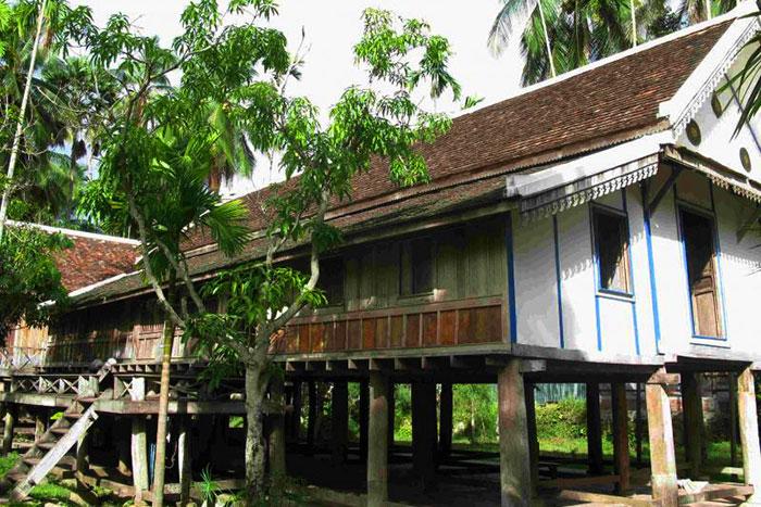 Casa tradicional en  Luang Prabang Laos