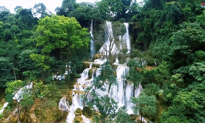 Las cascadas de Dai Yem Vietnam