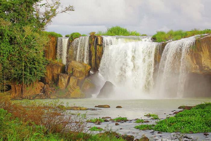 Las cuatro cascadas en Buon Me Thuot
