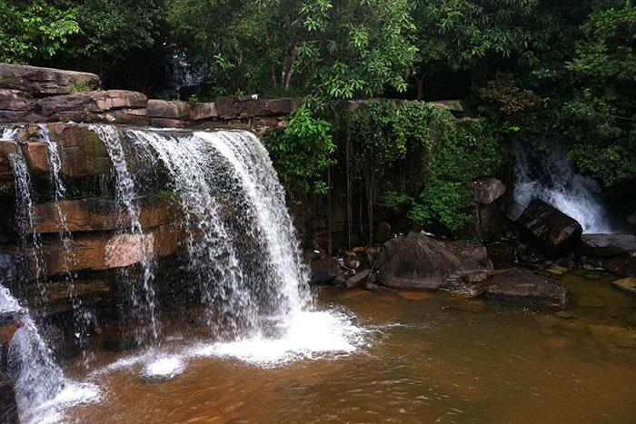 Cascadas de Kbal Chhay en Sihanoukville