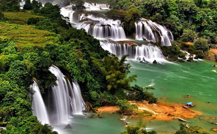 Cataratas de Ban Gioc en Cao Bang