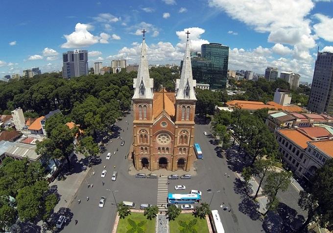 Catedral notrel dame de Saigon