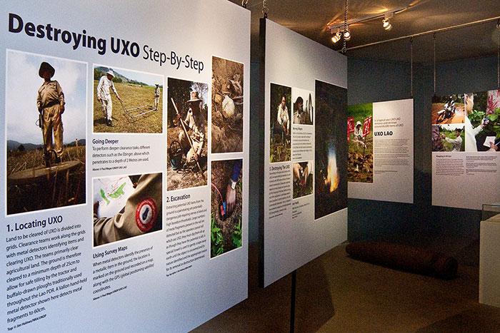 Centro de información de UXO en Xieng Khouang Laos