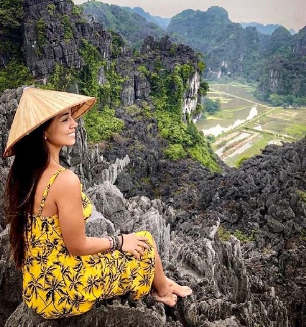 Cima de la montana Hang Mua en Ninh Binh Vietnam
