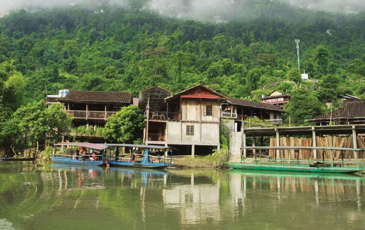 Pueblo de Pac Ngoi en Ba Be