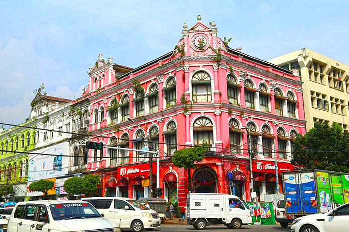 Patrimonio colonial de Yangon