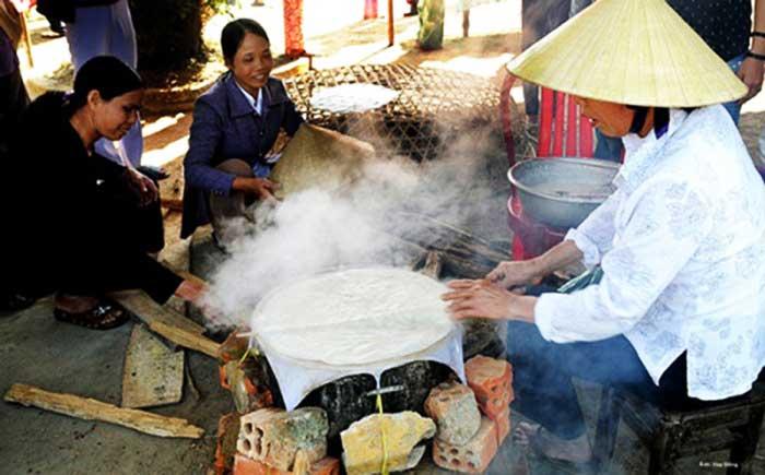 Tour de 15 dias Vietnam pasteles de arroz