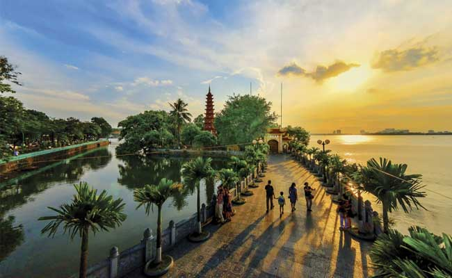 Circuito Vietnam Pagoda de Tran Quoc