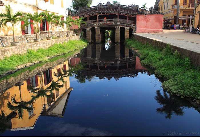 Puente cubierto o japones en Hoi An Vietnam