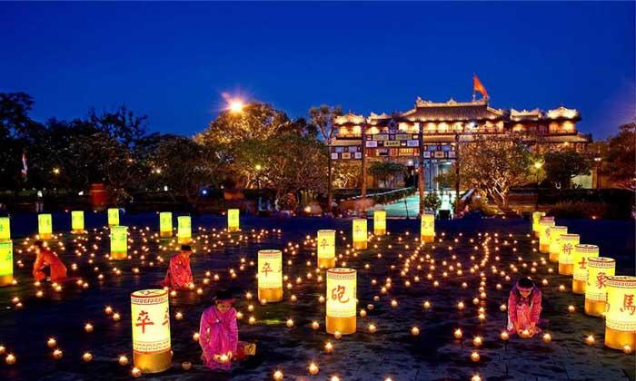 Festival bienal de la ciudad imperial de Hue