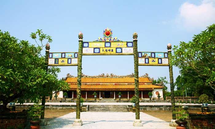 Puerta del mediodia en Hue