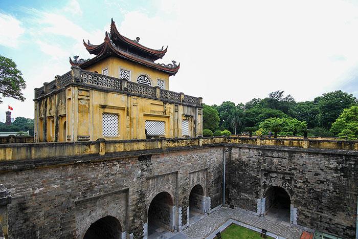 Ciudad imperial de Thang Long en Hanoi
