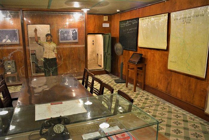 Bunker en la ciudad imperial de Thang Long Hanoi