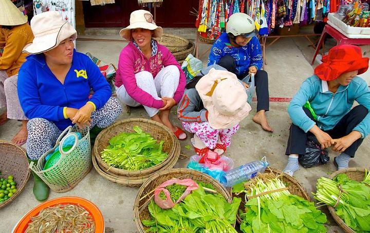 Clases de cocina mercado local Hoi An