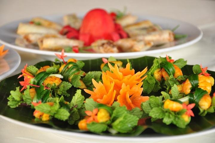 Comida tradicional Hoi An Vietnam