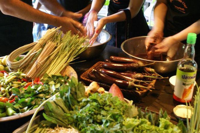 Clases de cocina en Luang prabang Laos