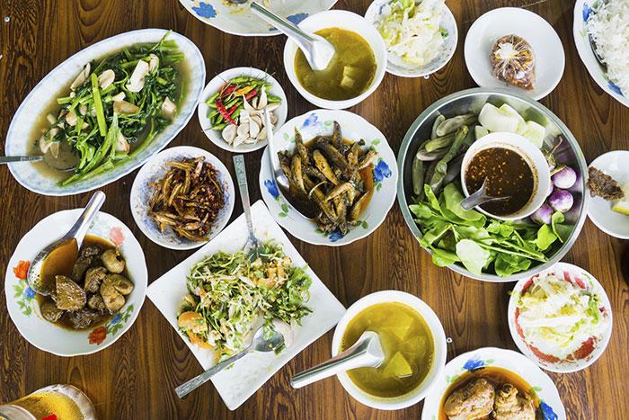 Cocina birmania buffet