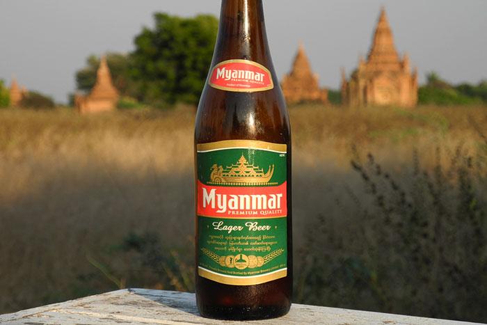 Cocina de Birmania cerveza