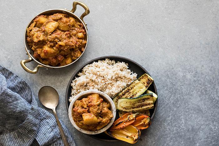 Cocina birmania curry