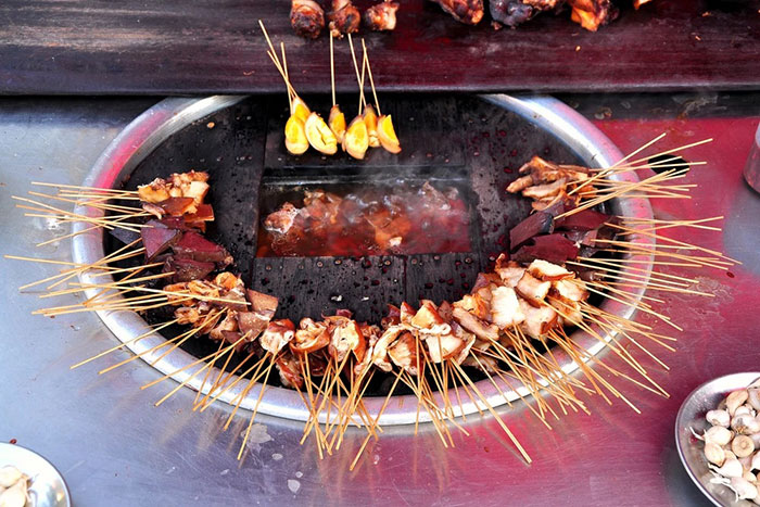 Cocina birmania barbacoa