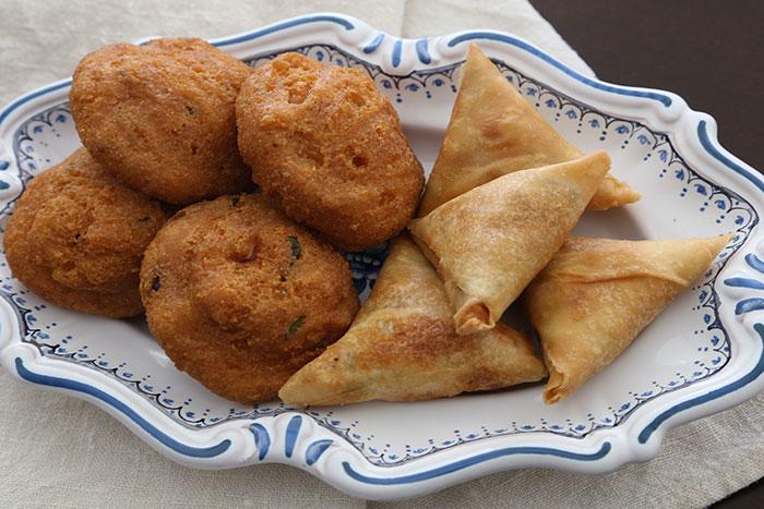 Cocina birmana samosas