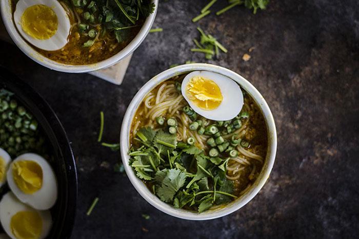 Sopas birmanias cocina Birmania