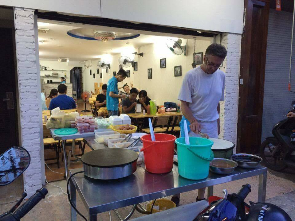 Crepe frances en Saigon