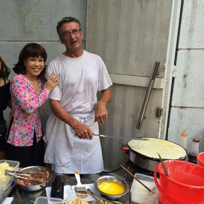 Cocina extranjera en Saigon
