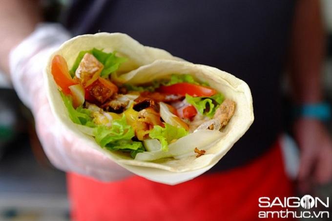 Pan griego en Saigon