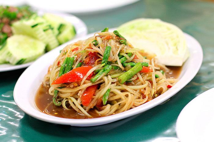 Comida en Luang Namtha Laos