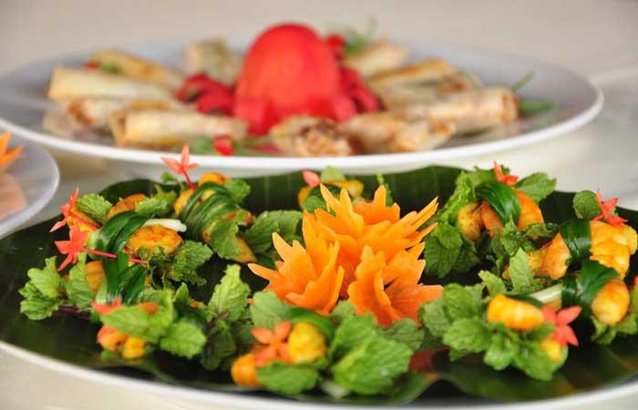 Cocina en el pueblo de Tra Que Hoi An