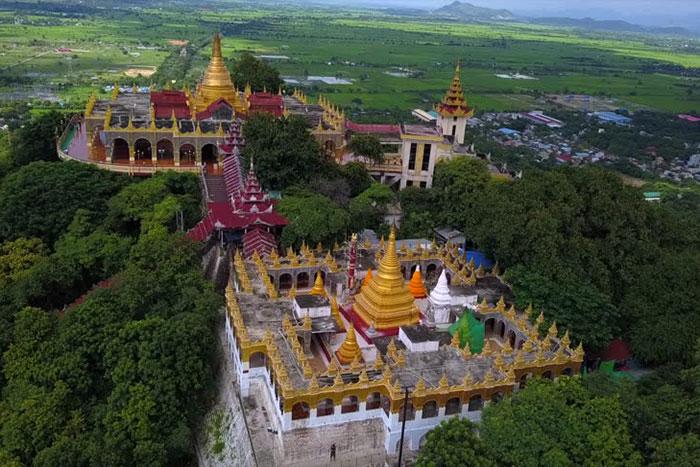 Colina de Mandalay Myanmar