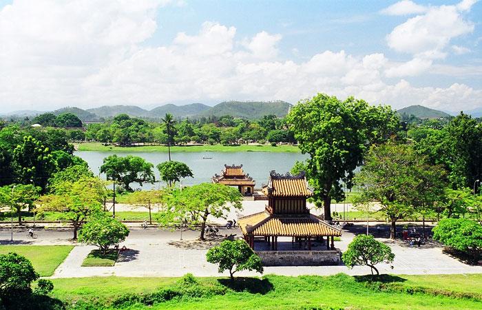 Colina de Vong Canh en Hue